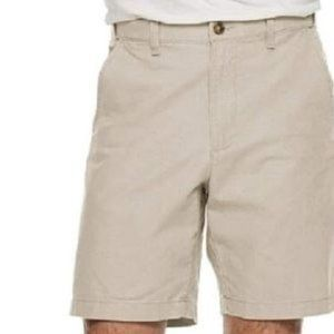 Croft & Barrow Men's Linen Blend Flat Front Shorts